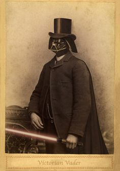 · Victorian Vader by Terry Fan ·