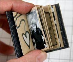 Matchbox Mini Album Tutorial - Club Scrap                                                                                                                                                                                 More