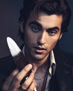 Blake Michael Photoshoot Blue Velvet Photocred: @NogenBeckPhoto June/July 2017 Blake Michael, Guys And Dolls, Blue Velvet, It Cast, Photoshoot, Actors, Fictional Characters, June, Fashion Clothes