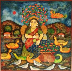 jayshree burman paintings - Google Search