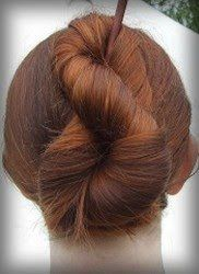 hair styles of braids another braided hair stick bun using only 1 braid 3978