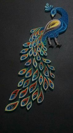Diy Quilling Crafts, Quilling Dolls, Quilling Animals, Quilling Work, Quilling Jewelry, Peacock Quilling, Paper Quilling Flowers, Paper Quilling Cards, Paper Quilling Patterns