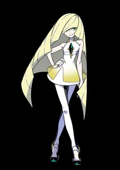 Lusamine - The president of the Aether Foundation