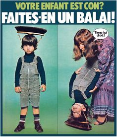 The broomhead for kids - making cleaning a real pleasure...