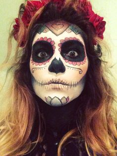 Day of the Dead. Halloween 2014 #halloween #dayofthedead