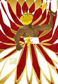 Shango/Xangô, Orisha of thunder, with oshé and banté. By Eliane Bettocchi (Lilith Estudio) (Brazil). Black Women Art, Black Art, Shango Orisha, Azores Portugal, Voodoo Priestess, Africa Art, Sacred Art, Gods And Goddesses, Art Pictures