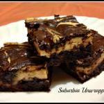 Peanut Butter Cream Cheese Brownies #Recipe