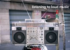 Researchers at the University of Manchester have found that listening to music at louder than 90 decibels produces loud vibrations that sends a positive a message to the brain.