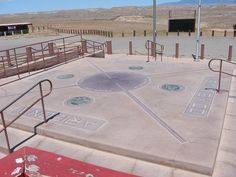 Stand in the middle of Four Corners. Four Corners - USA Utah, Colorado, Arizona, New Mexico.  Be in 4 states at once!!