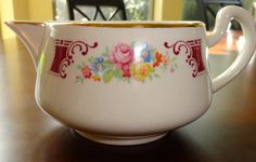 Vintage Homer Laughlin Creamer/ Cream Pitcher by SucresDaintyDish, $9.50