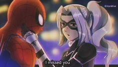Mi fan art Spiderman-man y Black Cat estilo retro Spiderman Anime, Spiderman Black Cat, Spiderman Man, Black Cat Marvel, Amazing Spiderman, Black Cat Anime, Black Cat Art, Harley Quinn, Disney Fan Art