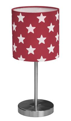 Kid's Concept - Tafellamp ster rood