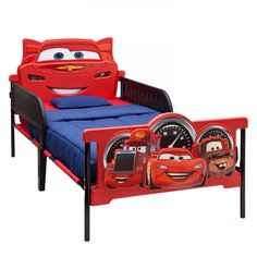 lettino saetta mc queen in abs dal cartone animato cars | kids ... - Letto Saetta Mcqueen
