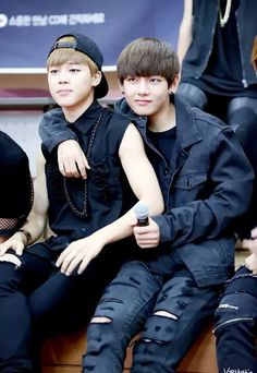 Jimin and V @BTS