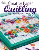 How To Glue Your Quilling to a Background Surface | theartofquilling.com
