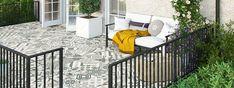 PorcelPave Heracles Tile Range Outdoor Porcelain Tile, Outdoor Tiles, Outdoor Decor, Grey Block Paving, Tiles London, Tile Warehouse, Uk Companies, Feature Tiles, House Tiles