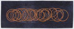 Circles No. 1 by Judy Kirpich | Contemporary art quilt