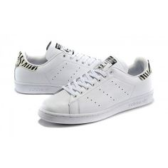 adidas Women Originals Stan Smith White Zebra Sneakers Shoes Sale