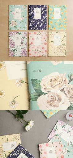 Large Blossom Notebook v2 Set