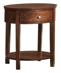 Espresso Commodore Accent Table #zulily #zulilyfinds