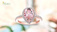 Pretty in pink! Barkev's engagement rings collection. Landmark Jewelers, St. Paul MN.