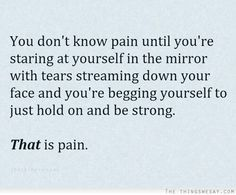 Pain, Just get through today..Fibromyalgia