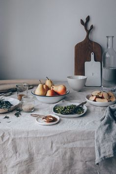 French Pear & Apple Galette with Rosemary Syrup - A Vegan Recipe by Kati of black.white.vivid. // food styling, food photography, vegan galette, French recipe, French cuisine, Vegan food, Vegan french recipe, vegan cake, vegan tart