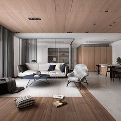 49 luxury living room design ideas with modern accent 19 Modern Interior Design, Interior Design Living Room, Living Room Designs, Interior Architecture, Living Room Modern, Home Living Room, Estilo Interior, Decoration Inspiration, Living Room Inspiration