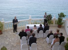 The beautiful location overlooking the Sea at the Hotel Montiboli Villajoyosa, Perfect location for a fantastic wedding celebration.