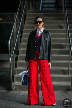 ☆Chriselle Lim by STYLEDUMONDE Street Style Fashion Photography