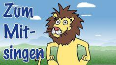 ♪ ♪ Wir gehen heut' auf Löwenjagd - Wir woll'n heut Löwen sehn - Mitsing...