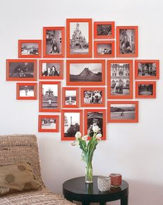 Travel wall- gonna do this with Belize pics!!