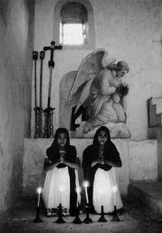 Ángeles mayas; Yucatán, 1960