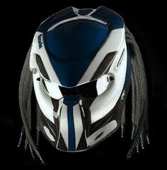 CUSTOM ALIEN PREDATOR HELMET DOT APPROVED - HANDMADE #CellosHelmet…