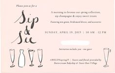 Join us on Sunday, April 19th 2015 at #BHLDNgtown for a very special Sip & See Event. Click through the above image to RVSP