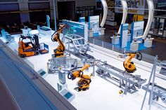 Siemens Hannovermesse 2008 // Triad