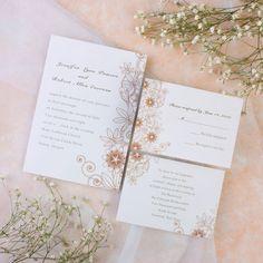 sunflower Wedding Invitations INF008 [INF008] - $0.00 : Invitation Store, Invitationstyles.com