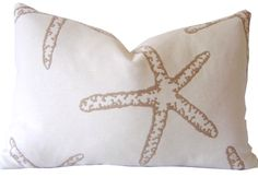 Handmade Coastal Pillow Covers and Custom Pillows by California Livin Home.