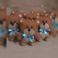 Ursinhos em feltro