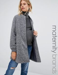 New Look Maternity | New Look Maternity Speckled Bomber Jacket