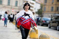 Après New York et Londres, les Fashionistas Ont Débarqué à Milan Jour 1 Eva Chen