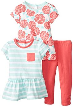 Little Me Baby-Girls Infant Rouge Floral 3 Pack Play Set, Red/Multi, 24 Months Little Me http://www.amazon.com/dp/B00O51DN7W/ref=cm_sw_r_pi_dp_ag8fvb15ZN0GX