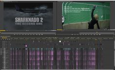 The complete post production filmmaking breakdown from the film editor. http://vashivisuals.com/sharknado-2-editing-chaos/
