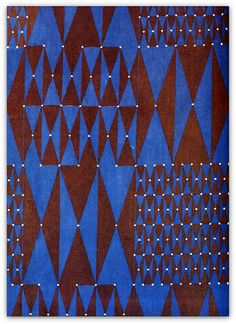 1963 fabric by Friedlinde de Colbertado Dinzl | Flickr - Photo Sharing!