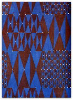 1963 fabric by Friedlinde de Colbertado Dinzl | Flickr - Photo Sharing!
