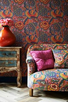 Once Upon A Tea Time.... Design Stories: Fabric