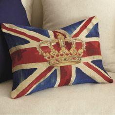British Royalty Pillow tutorial