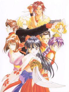 Art Day, Sakura, Character Art, Sakura Wars, Anime Fanart, Illustration Art, Artwork, Graphic Art, Magical Girl