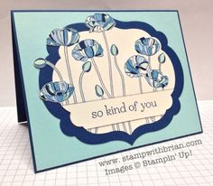 Pleasant Poppies, Sweet Essentials, Stampin' Up!, stampwithbrian.com