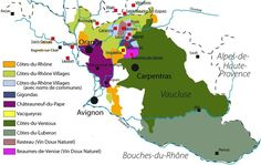 WINE ROUTES OF PROVENCE~ a place with charming medieval villages, good-tasting food, and, of course, great wines.